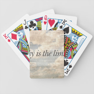Motivational Quotes Photo Bicycle Playing Cards