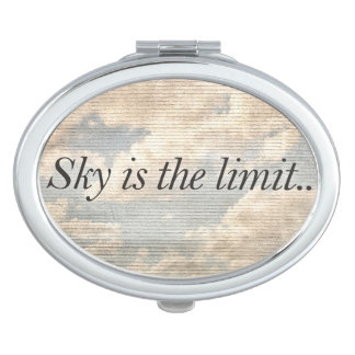 Motivational Quotes Photo Compact Mirror