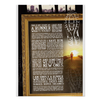 Motivational- Running, Life Poster