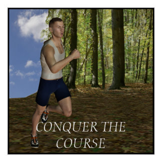 Motivational Running Poster
