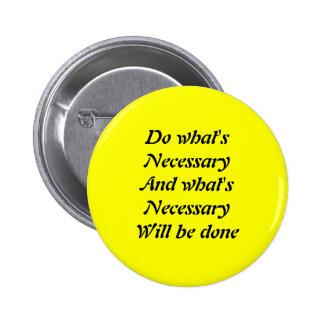 Motivational slogans 2 inch round button