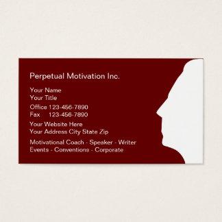 Motivational Speaker Business Cards