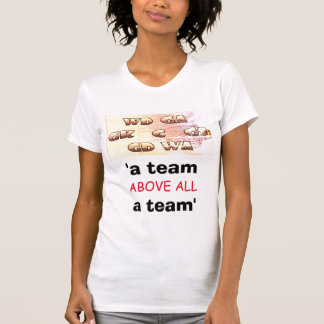 Motivational Sport Quote Netball Positions T-Shirt