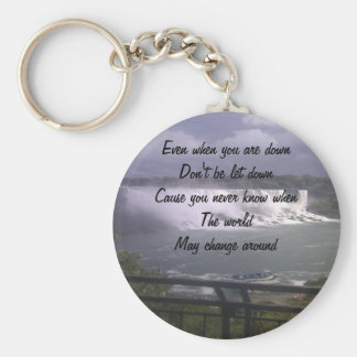 motivational upliftment keychain