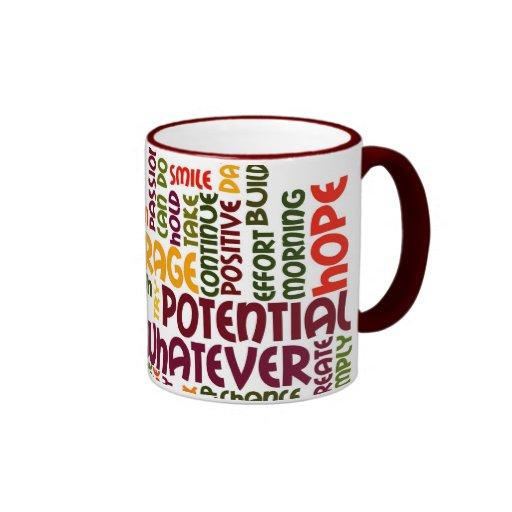 Motivational Words #1 Ringer Mug