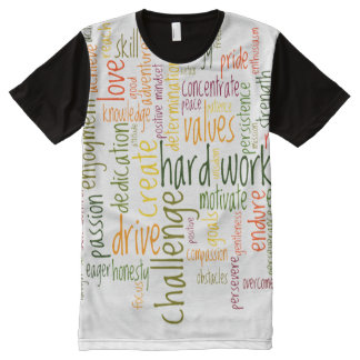 Motivational Words #2 positive encouragement All-Over-Print T-Shirt