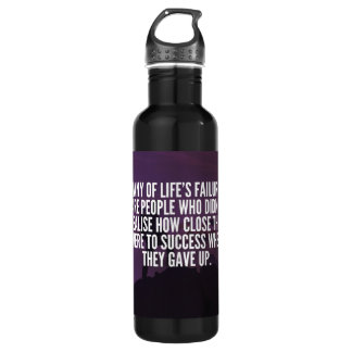 Motivational Words - Failure and Success 710 Ml Water Bottle