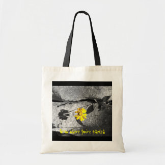 "Motivations ""Grow where you're planted"" Tote Bag"