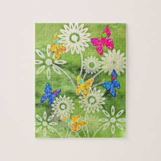 Motive for spring puzzles