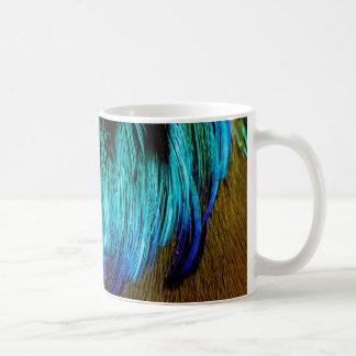 Motmot Feather Abstract Coffee Mug