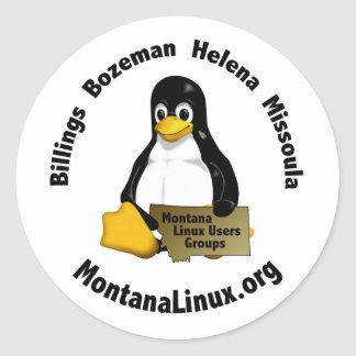 Motnana Linus User Group stickers