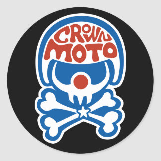 Moto Clown (usa) Stickers