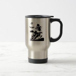 Moto Cross travel mug. Travel Mug