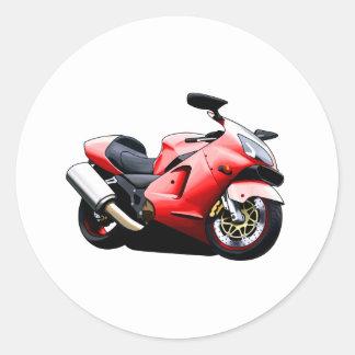 Moto Koolart Classic Round Sticker