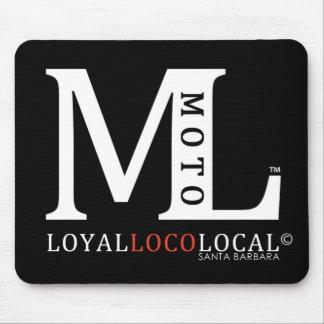 Moto Loco Mouse Pad