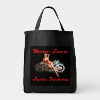 Moto Loco Tote Bag