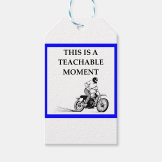 moto pack of gift tags