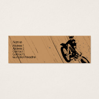 Moto-Psycho Mini Business Card