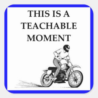 moto square sticker