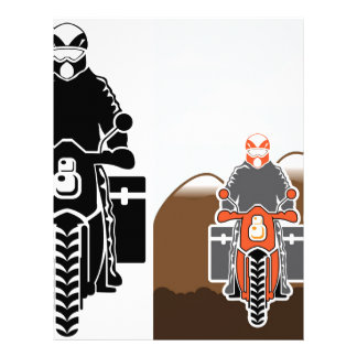 Moto Travel vector Letterhead Template