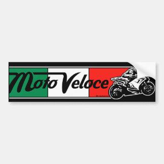 Moto Veloce Bumper Sticker