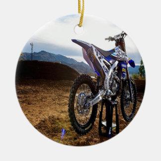 Motobike Ceramic Ornament