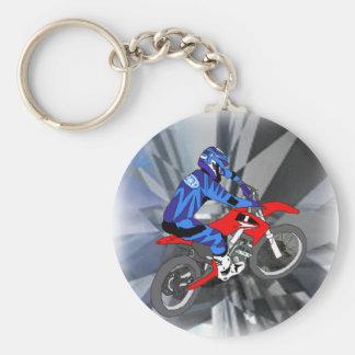 Motocross 204 keychain