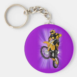 Motocross 402 keychain