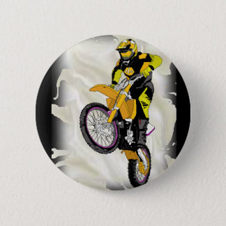 Motocross 409 2 inch round button