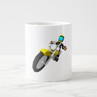 Motocross Biker Jumbo Mug
