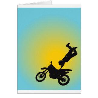 Motocross Card