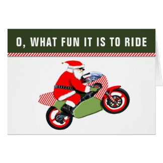 motocross Christmas holiday cards