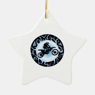 Motocross Days Ceramic Ornament