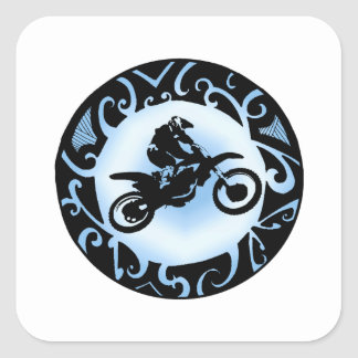 Motocross Days Square Sticker
