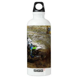 Motocross Dirtbike Racer Sports Gift Water Bottle