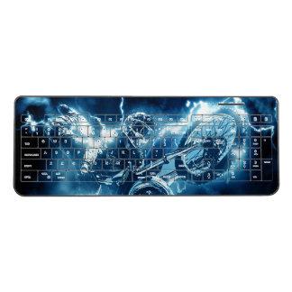 Motocross extreme sport wireless keyboard