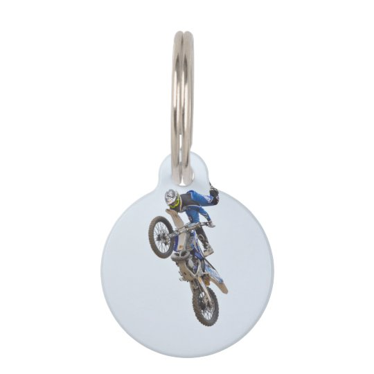 Motocross Extreme Tricks Pet Tag