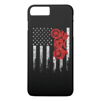 Motocross Flag iPhone 8 Plus/7 Plus Case