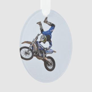 Motocross Flying High Ornament