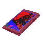 Motocross Going Loopy Tri-fold Wallet