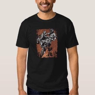 Motocross Grunge T Shirts