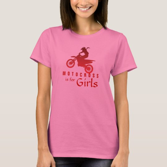 Motocross is for Girls T-Shirt