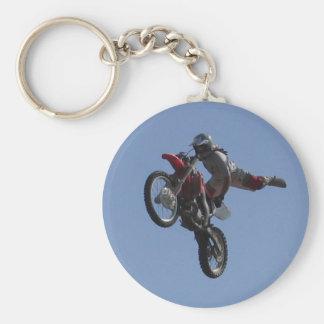 Motocross Jump Keychain