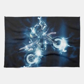 Motocross Kitchen Towel