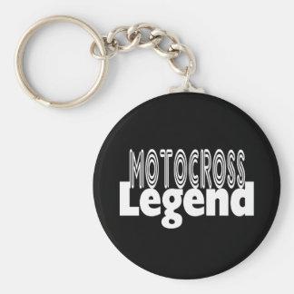 Motocross Legend Keychain