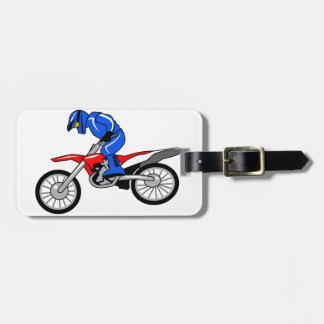 Motocross Luggage Tag
