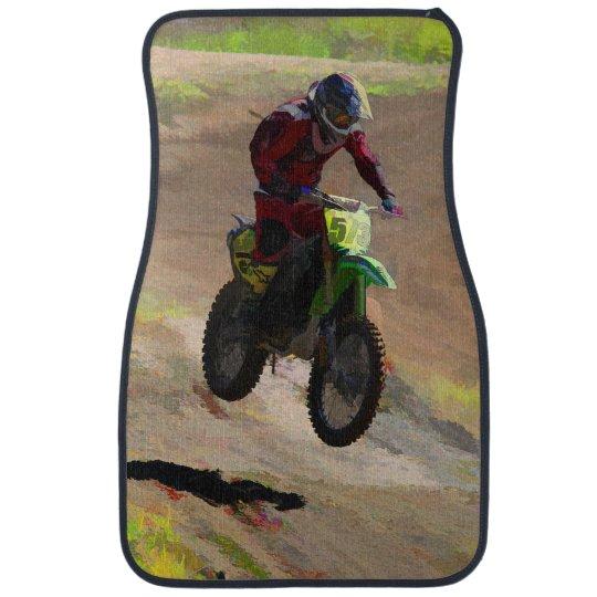 Motocross Mogul  -  Motocross Rider Car Mat