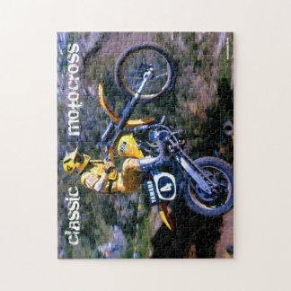 Motocross Puzzle - Classic Motocross (PZL-BH4)