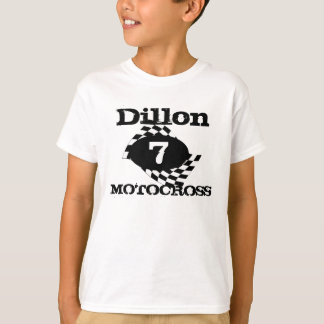 Motocross Race Flag T-Shirt