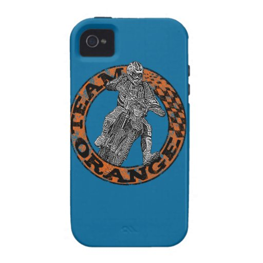 Motocross racer Case-Mate iPhone 4 cases